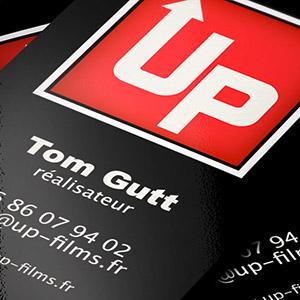 Up Films – Création logo